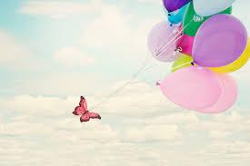 farfalle e palloncini